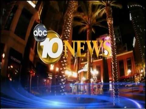 10News at 11:00 - Officer Chris Wilson's Funeral - 2011 San Diego Press Club Award Winner