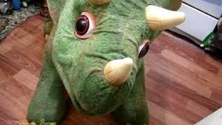 Хасбро школи Кота трицератопса дитина їде дитячі іграшки динозавр динозавр