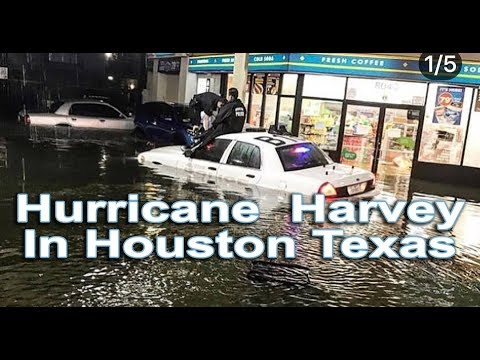 Hurricane  Harvey In Houston Texas Relief Efforts -George R Brown