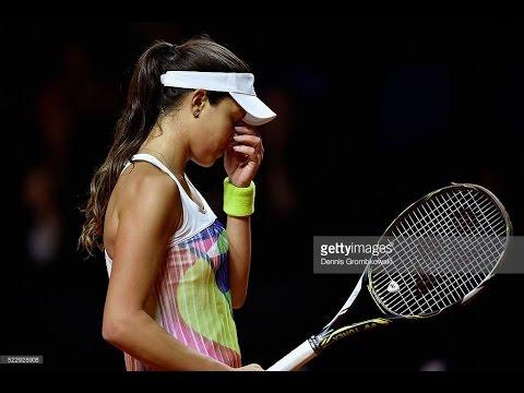 Karolina Pliskova VS Ana Ivanovic Highlight Stuttgart 2016 R2