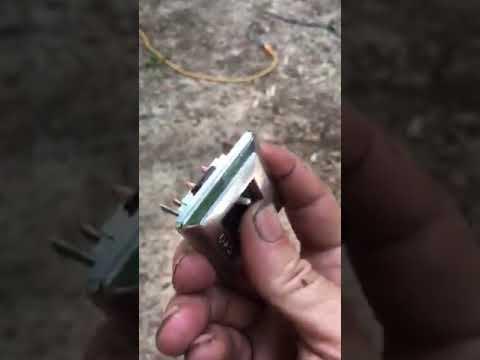 81 Corvette Door Will Not Open Youtube
