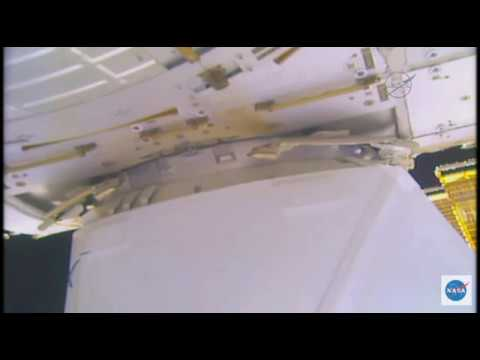 Capture Confirmed! SpaceX Dragon is Now Berthed to Space Station | Video