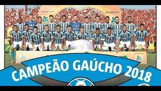 Grêmio 2018 - Título Gaúcho