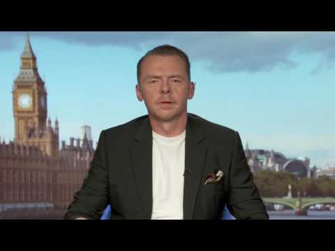 STAR TREK BEYOND | Simon Pegg & Kate Rubins Full Interview ...