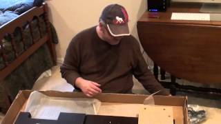 Envoy Collection Corner Desk From Bush Furniture Unboxing And Review
