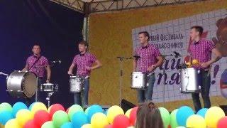 Drummers show, marching drums music Шоу барабанщиков Ритмикон маршевые барабаны(Drummers show, marching drums music Шоу барабанщиков
