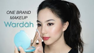 WARDAH One Brand Makeup Tutorial (Full Face Only 300K+) ✨