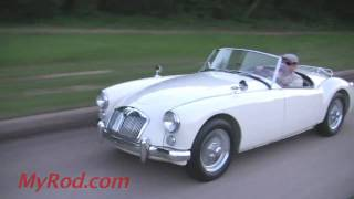 1961 MGA  (video 2) - MyRod.com