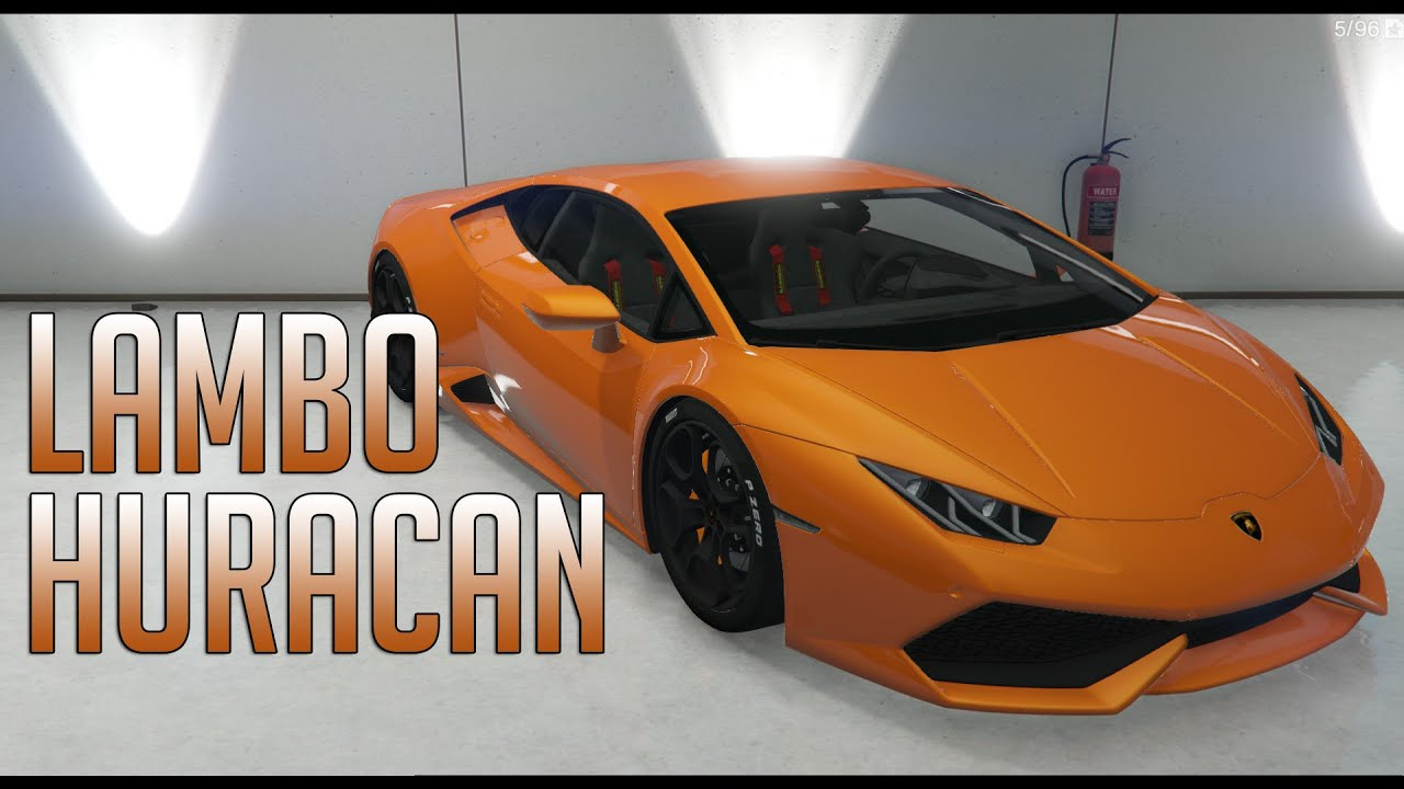 gta v 2015 lamborghini huracan mod youtube. Black Bedroom Furniture Sets. Home Design Ideas
