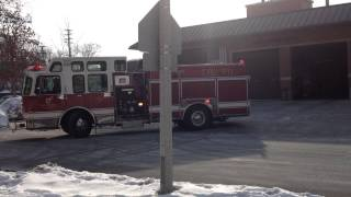 RF Fire Truck Backing Up