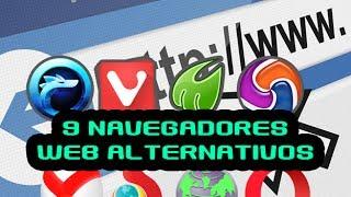 Los 9 navegadores web 🌐 que odian Google Chrome y Mozilla Firefox