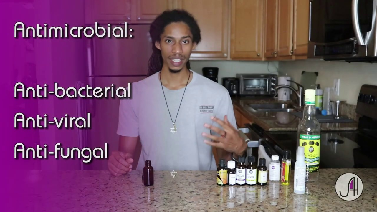 How to Make Hand Sanitizer & 4 Thieves Essential Oil Blend