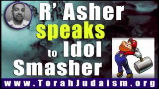 R' Asher speaks to Idol smasher