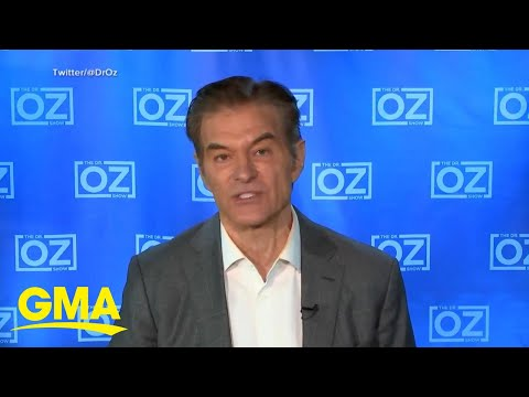Dr. Oz Apologizes For Misspeaking About Reopening Schools L GMA