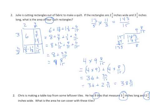 Grade 5 EngageNY Eureka Math Module 5 Lesson 13 with