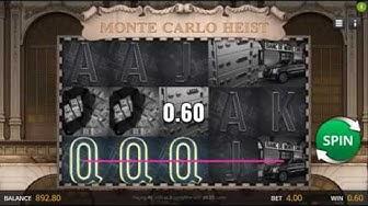 Monte Carlo Heist Slot - Genii