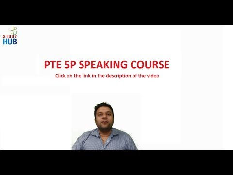 PTE Speaking Test 5P Speaking Course  Money Back Guarantee