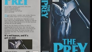 THE PREY --- 1984 - VHS Movie Review