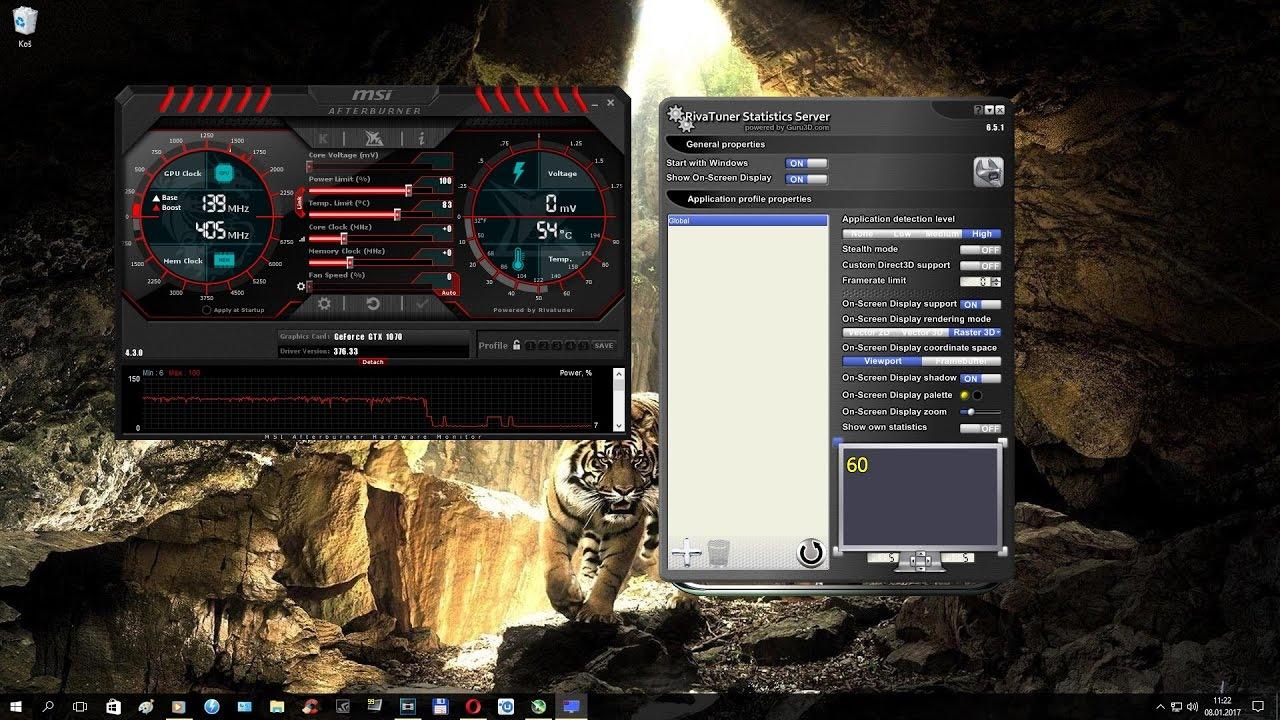 How show monitoring FPS | RAM | CPU Usage - Temperature | GPU Usage -  Temperature