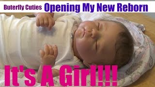 Opening My New Reborn Baby Girl Doll | Penny by Linda Murray CradleKits | Marleah Belle