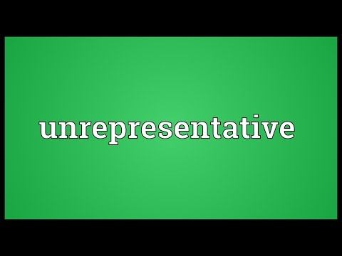 Header of unrepresentative