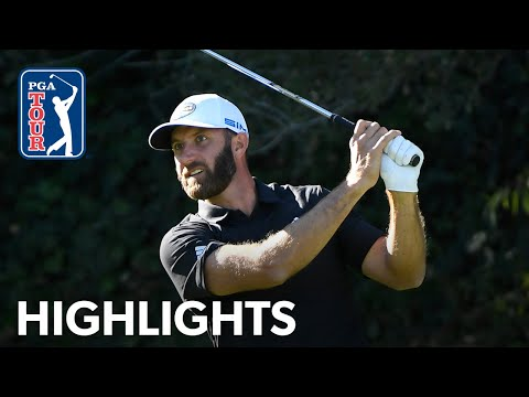 Dustin Johnson highlights | Round 3 | Genesis | 2021
