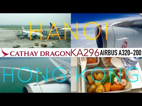 Cathay Dragon KA296 : Flying from Hanoi to Hong Kong