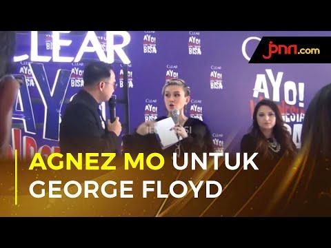 Agnez Monica Buka Suara Terkait Kematian George Floyd