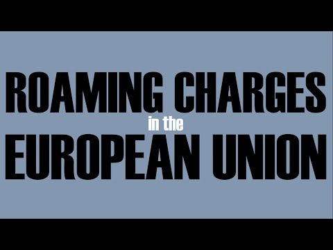 Roaming Charges in the EU