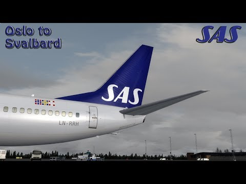 [P3D] Is this real ?! Svalbard the most northern airport in the world (60 FPS)