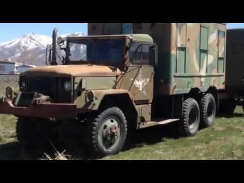 M135 1954 GMC 2 5 ton duece and a half 6x6 ARMY truck | FunnyDog TV