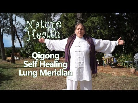 Qigong Self Healing - activating the lung meridian - breath easier