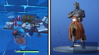 ¡COMO BLOQUEAR LA PIEL PRISONATERIA STAGE 2 en FORTNITE BATTLE ROYALE!