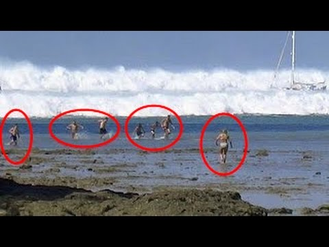 TOP 3 Tsunami Caught On Camera  | Biggest Tsunami in the world