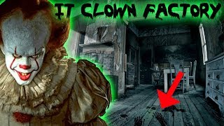 IT CLOWN FACTORY! THEY FILMED IT THE MOVIE HERE | MOE SARGI