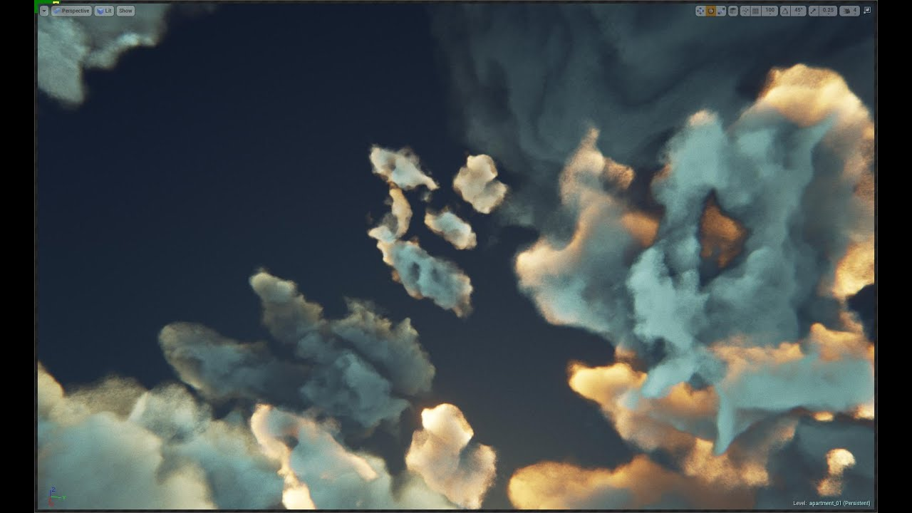 Clouds via ray marching - Unreal Engine Forums