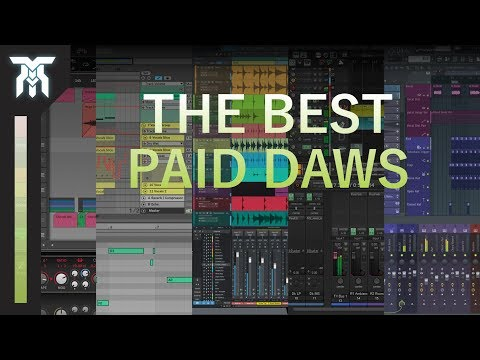 Top 10 DAWs (2018) - Best digital audio workstations