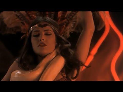 סלמה הייק - salma hayek snake dance black magic woman from dusk till dawn 1996