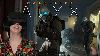 This is a lot scarier in VR.. - Half-Life Alyx [1]
