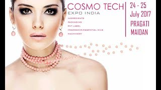 Cosmo Tech Expo 2017 Индия. Выставка косметики 2017