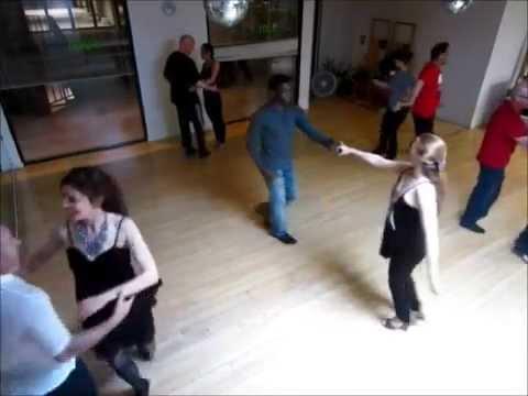 Hustle opendancing Thursday nights in Santa Monica Shay Dixon 2015 0212 C Red catwalk MVI 0151
