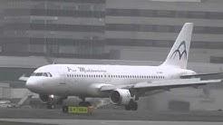 Air Mediterranee (Hermes Airlines) Airbus A320-211 SX-BHV at Manchester 25.4.13