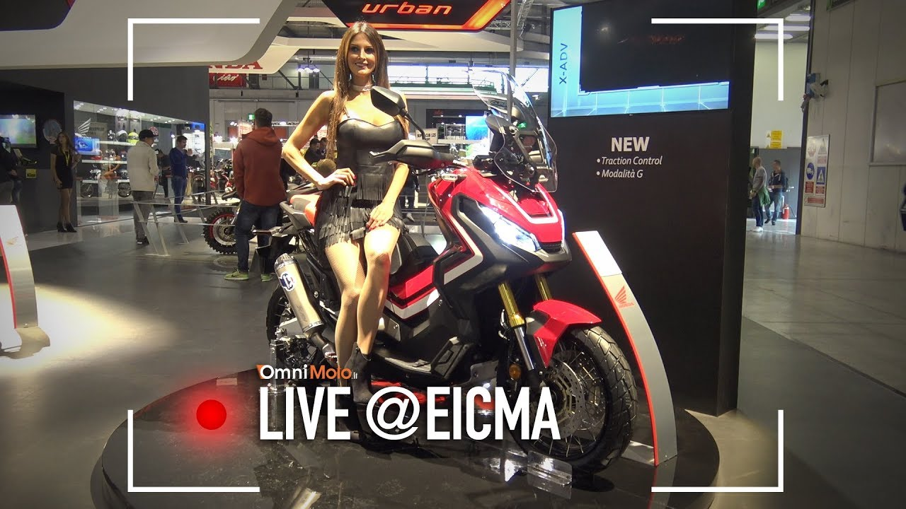 Honda X-ADV 2018 | EICMA 2017 - YouTube