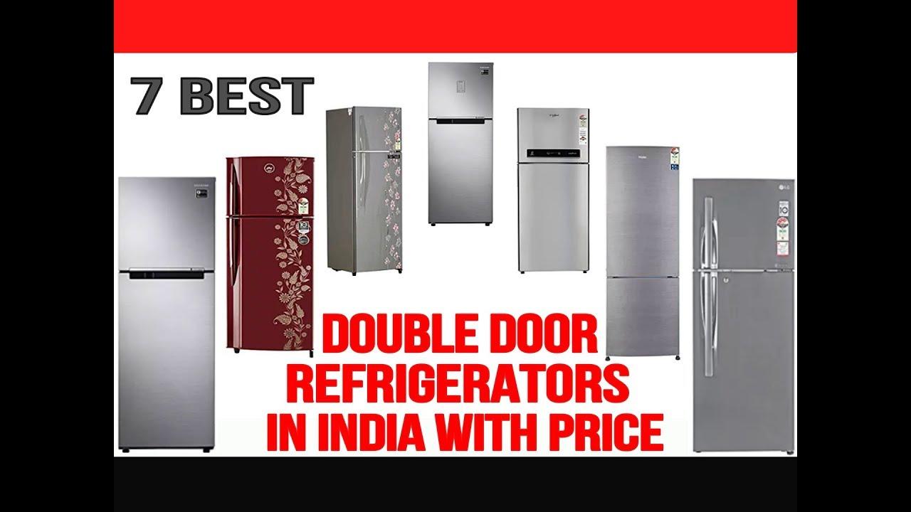 Top 7 Best Double Door Refrigerators in India with Price