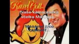 Včelka Mája Karel Gott karaoke kfn DEMO c beranek robinson