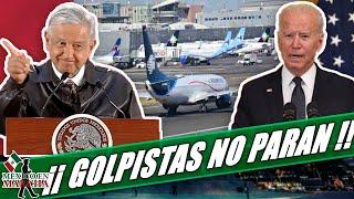 Gring0s Sabotearon Aeropuerto Para Ensayar Un Ataque Al Presidente En Su Gira!!AMLO Los Exhibe!