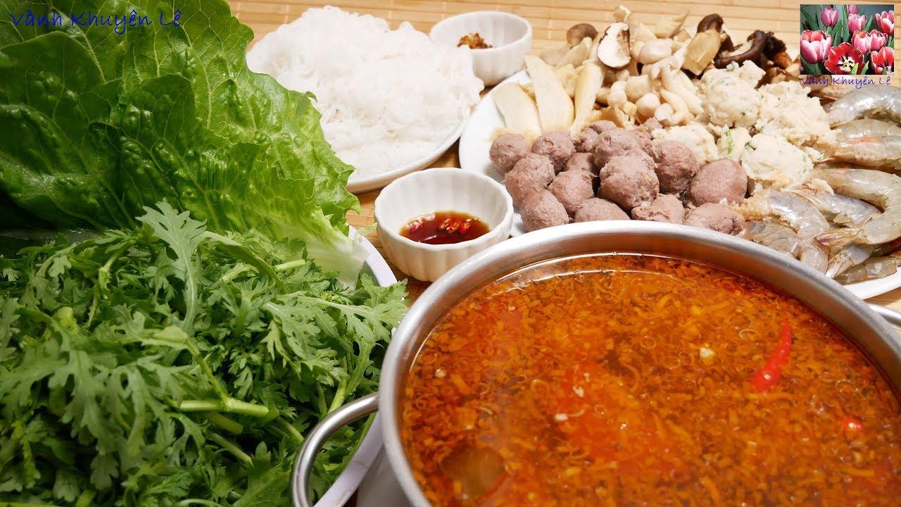 LẨU THẬP CẨM – Cách nấu Lẩu Sa tế chua cay cho người lớn và trẻ nhỏ thật thơm ngon by Vanh Khuyen