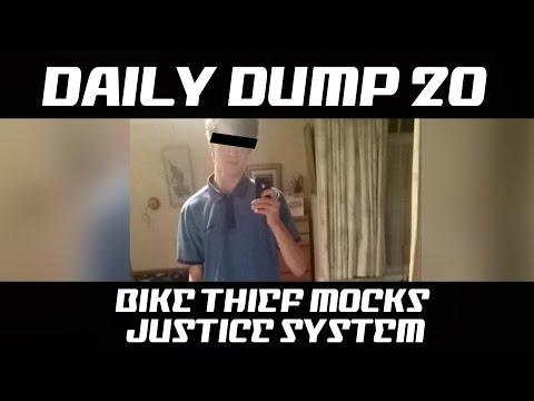 DD20 - Bike thief mocks Justice System
