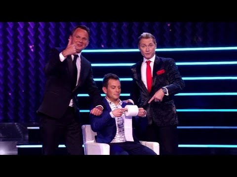 Peter & Ronald nemen Dan Karaty in de maling - HOLLAND'S GOT TALENT