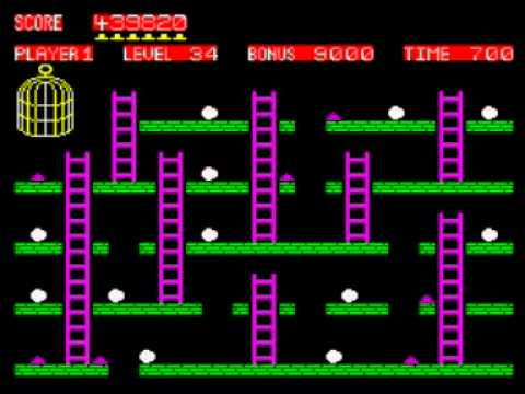 Chuckie Egg Walkthrough, ZX Spectrum